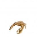 Poly Lobster Piet, L25cm, W18cm, gold